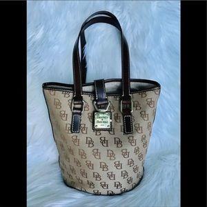 Dooney & Bourke Monogram bucket Shoulder Bag